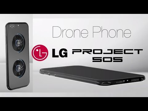 LG Drone Phone - Project 505 - Behold The Future