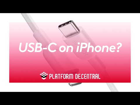 Why doesn't iPhone have USB-C instead of lightning?