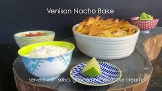 Venison Nacho Bake