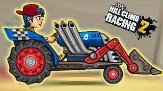 Машинки Hill Climb Racing 2 новая тачка ТРАКТОР легендарное обновление игры для детей HCR 2