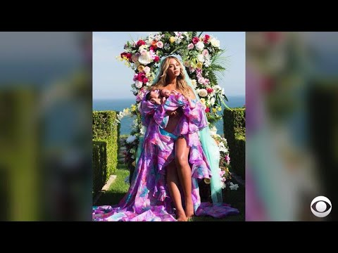 When Was Beyonc's Twins Photo Taken? Fans Are Loving The Floral Theme