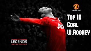 Video W.Rooney- Top 10 Goals download MP3, 3GP, MP4, WEBM, AVI, FLV Agustus 2018