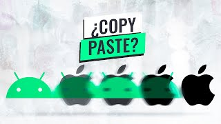 ¿Apple copia a Android?