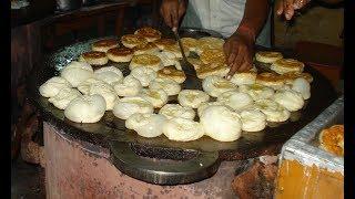 #Multi Layered Indian Flat Bread   PAROTTA MAKING   INDIAN STREET FOOD