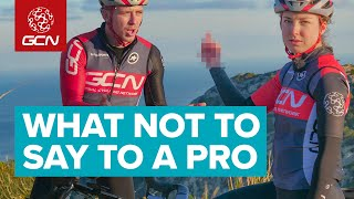 The Worst Things To Say To A Pro Cyclist
