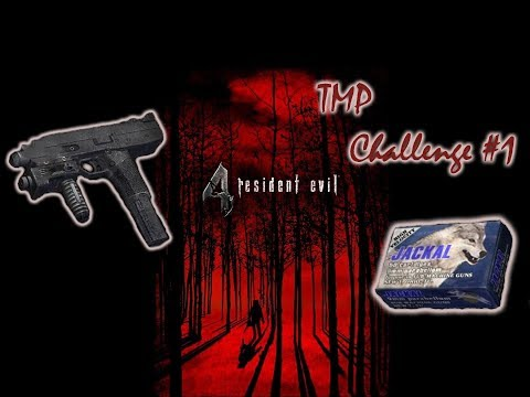 Resident Evil 4 TMP Challenge #1 First thing is First the Village