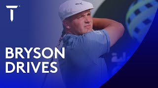 Every Bryson DeChambeau drive | 2021 Saudi International