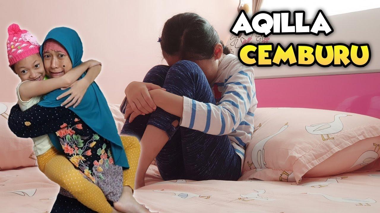 Aqilla Cemburu - Mbak Kunyit Lebih Sayang Sama Baby 😄 Drama Parodi Aqilla's Diary
