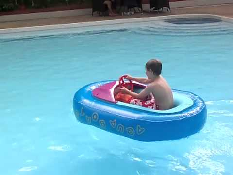 A Little Boats For Kids Can Ride In
