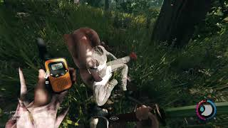 The Forest | Megan Cross Ghost clip (Bug Report)