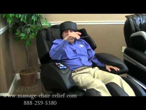 Headband Airbags   Osaki OS 7000 U0026 OS 7075R Massage Chair