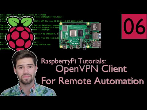 Raspberry Pi VPN Client: Connect Back To Your Home Network! - RaspberryPi Tutorial #06 | 4K TUTORIAL