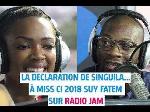 La déclaration de Singuila... à Miss CI 2018 Suy Fatem sur Radio Jam