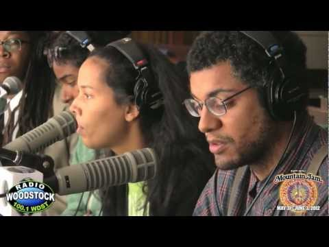 Carolina Chocolate Drops Interview - Mountain Jam VIII - Radio Woodstock 100.1 WDST