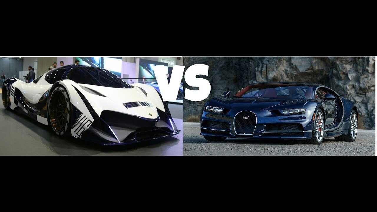 bugatti chiron 1500hp vs devel sixteen 5000hp 2018 youtube. Black Bedroom Furniture Sets. Home Design Ideas