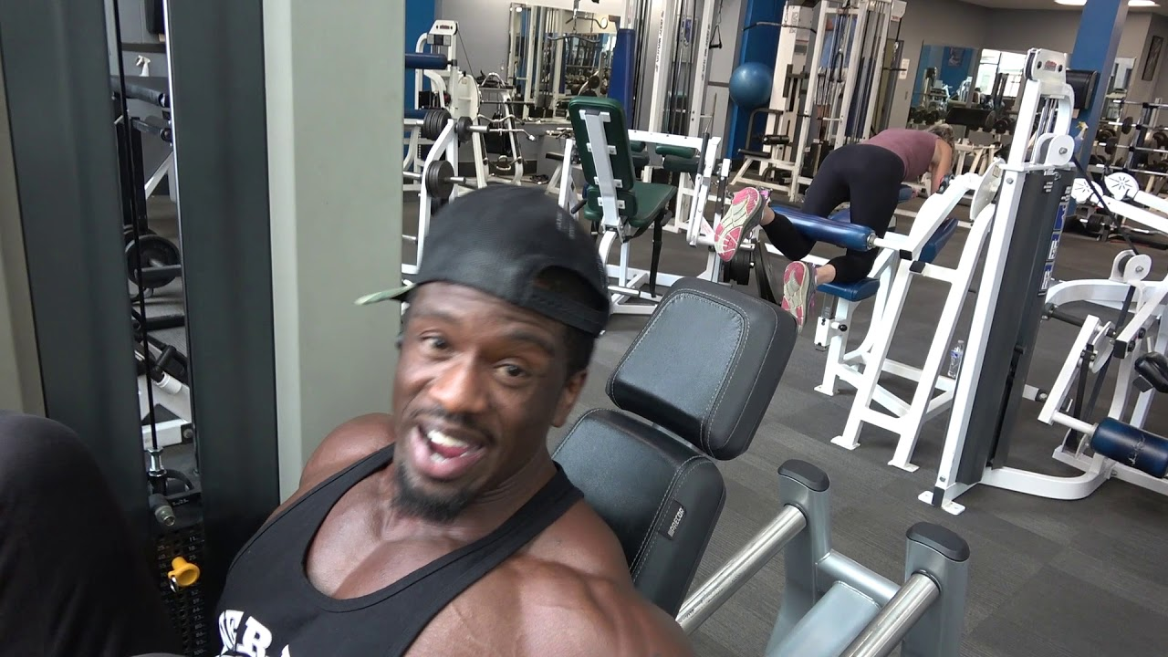 Get Monster Quads   Pro Bodybuilder Leg Workout - YouTube