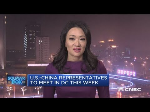 US-China trade talks resume in Washington as March 1st deadline approaches