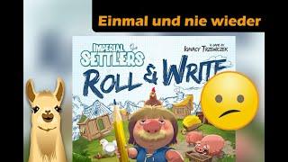 ► Imperial Settlers: Roll & Write / Einmal und nie wieder / SpieLama