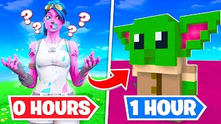 I gave 10 Fortnite Players ONE HOUR to build me ANYTHING... (INSANE)