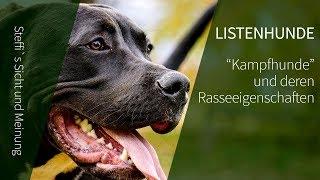 Listenhunde ► Kampfhunde und deren Rasseeigenschaften ► Steffi`s Meinung