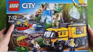 LASTENOHJELMIA SUOMEKSI - Lego city - Viidakon siirrettävä laboratorio 60160 esittely - osa 1