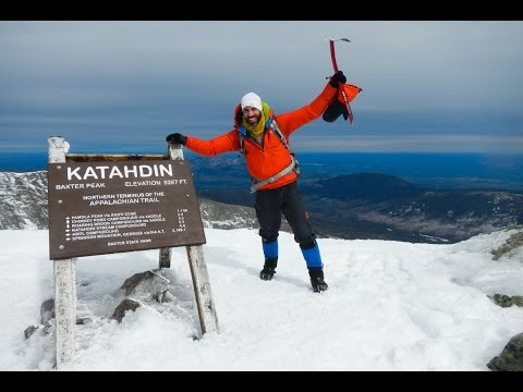 Single Push Winter Katahdin, Hamlin, Solo North Brother