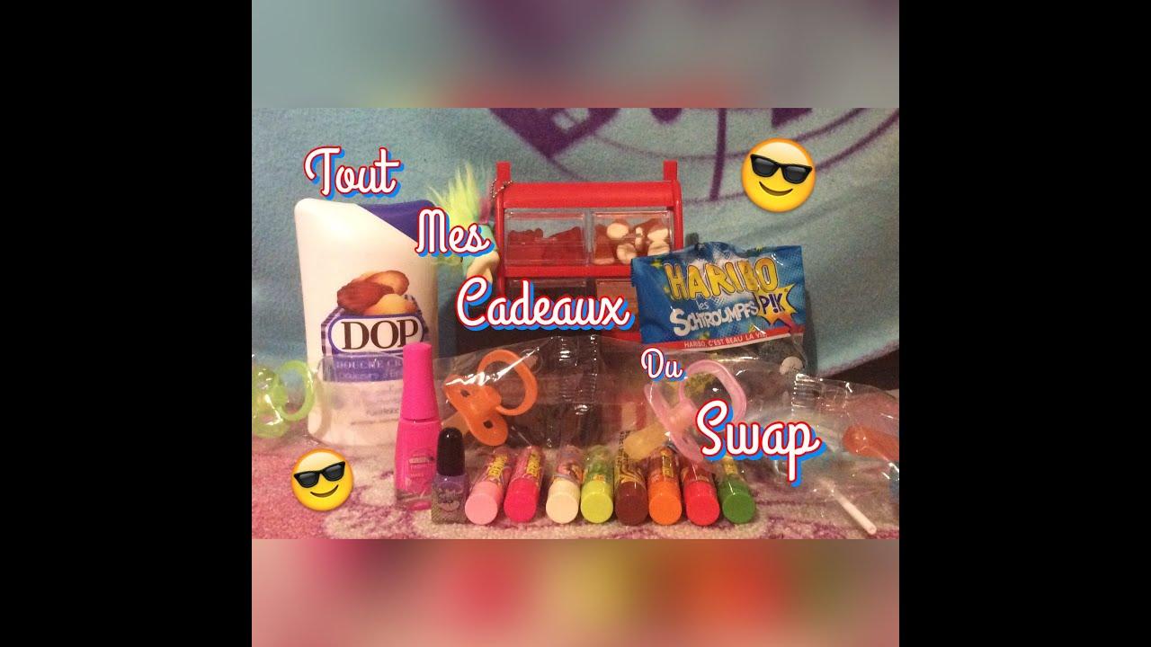 Bien-aimé Tout Mes Cadeaux Du Swap !!!! - YouTube BG65