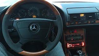 Mercedes-Benz Cl 500! Лучший авто которым я управлял! C140