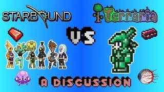 Repeat youtube video Starbound Vs. Terraria: A Discussion