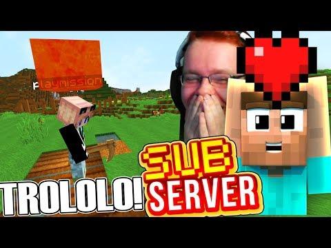 DAS TROLLEN IST ZURÜCK! - Minecraft SubServer | Earliboy