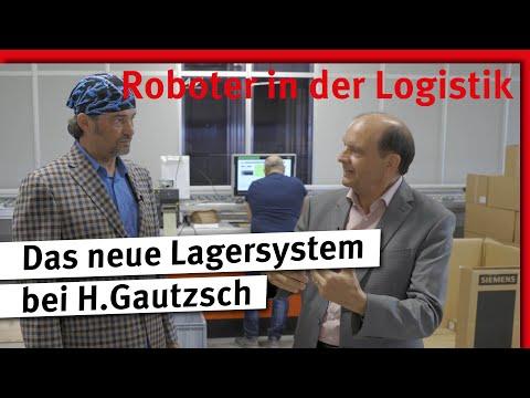 Roboter in der Logistik | Das neue Lagersystem bei H.Gautzsch
