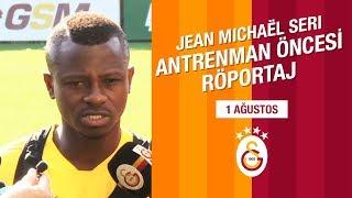 🎙 Jean Michaël Seri | Antrenman Öncesi Röportaj