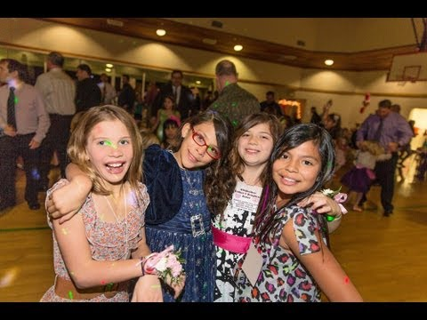 Sinsheimer Elementary School's Father/Daughter Dance, Part I