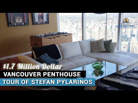 $1.7M Vancouver Penthouse Tour Of Internet Entrepreneur Stefan James Pylarinos