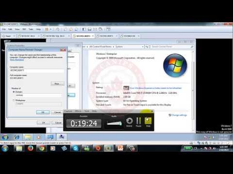 SCCM 2012 Part 6 SCCM Client Push Installation
