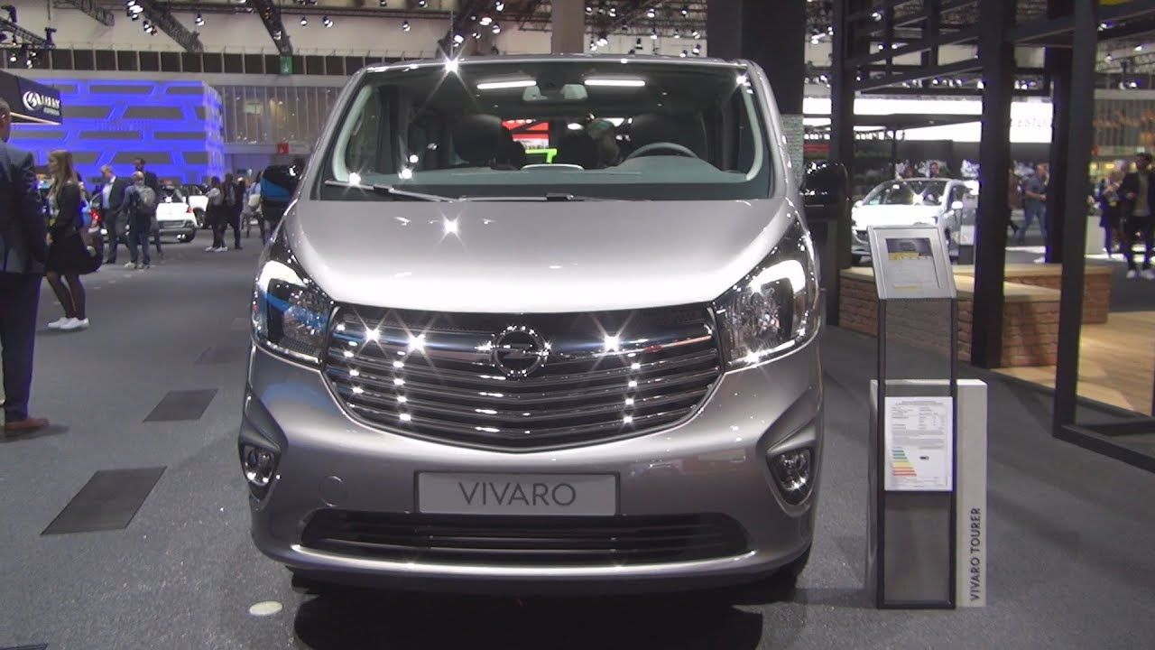 Opel Vivaro Tourer 1 6 Biturbo Diesel 145 Hp S S 6mt 2018 Exterior And Interior Youtube
