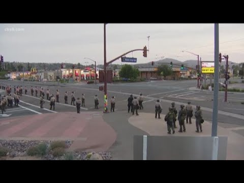 Protests continue all over San Diego County