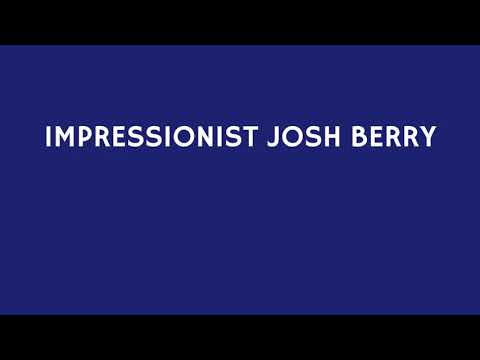 VIDEO: Impressionist Josh Berry