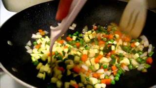 Cooking With Spider: Japanese-style Fried Rice