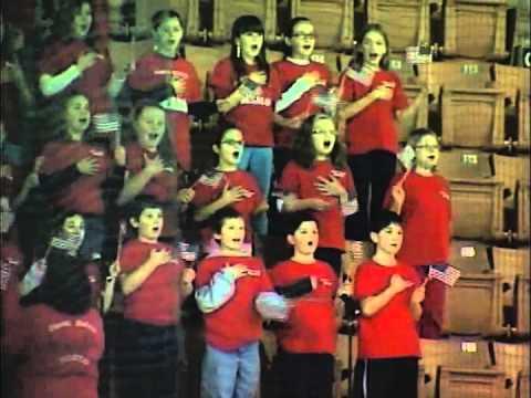 North Londonderry Elementary School - God Bless America - January 10, 2014