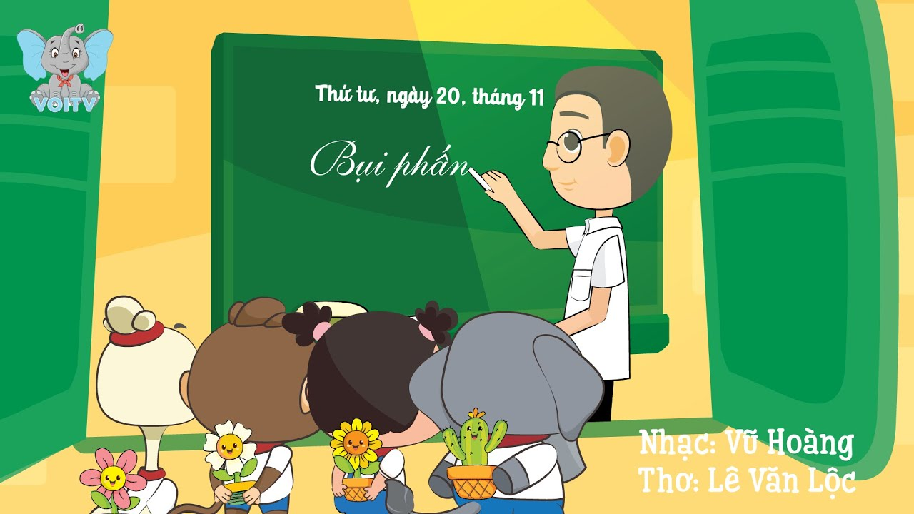 image Bụi Phấn | Nhạc Thiếu Nhi Hay Dành Cho Bé | Voi TV