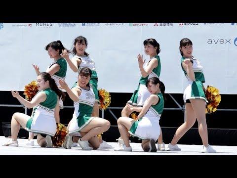 20190525 Y160 横浜セントラルタウンフェスティバル (2) 関東学院大学チアダンス部 Fits