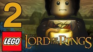 LEGO: Lord of the Rings The Game - Walkthrough Gameplay Part 2 - The Black Rider (1080p)