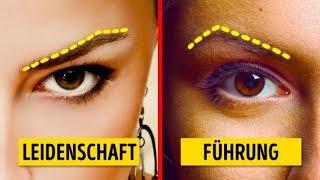 Sag uns, wie deine Augenbrauen aussehen, und wir verraten dir, was für ein Mensch du bist