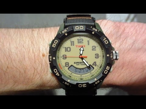 TIMEX T45181 Expedition WR 100m Resin Combo Review