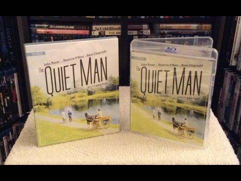The Quiet Man 4K Restoration BLU RAY UNBOXING and   John Wayne