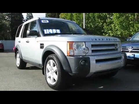 2006 Land Rover Lr3 HSE San Jose  Sunnyvale  Hayward  Redwood City  Cupertino