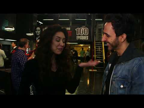 The Blacklist: Abraham Stern 100th Episode  Amir Arison and Mozhan Marno  Social.XYZ