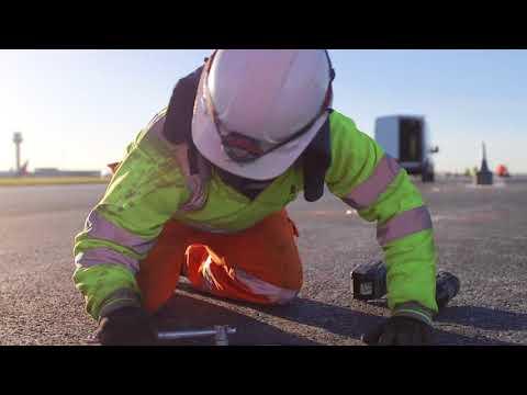 East Midlands Airport runway refurbishment