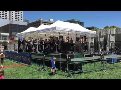 "Jazz Mafia and Mission Delirium Brass Band premier ""Brass Convergence"" by Adam Theis"